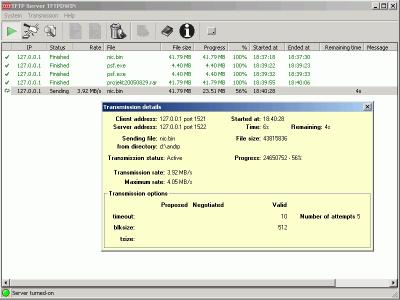 Download TFTP Server TFTPDWIN