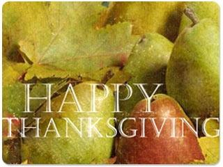 Download Thanksgiving Blessings Screensaver