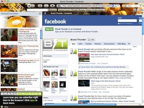 Download Thanksgiving Theme for Internet Explorer
