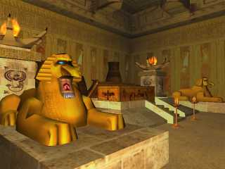 Download The Secrets of Egypt 3D Screensaver