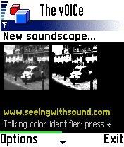 Download The vOICe MIDlet for Mobile Camera Phone