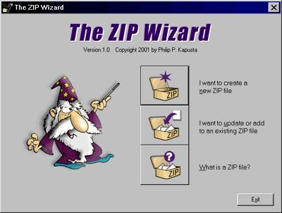 Download The ZIP Wizard