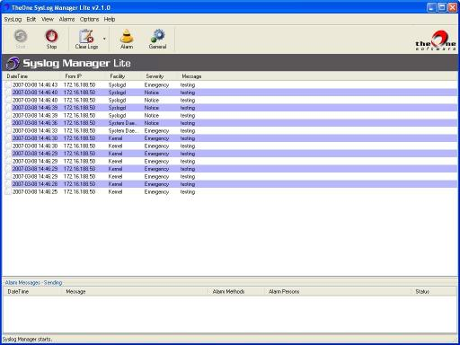 Download TheOne SysLog Manager Lite