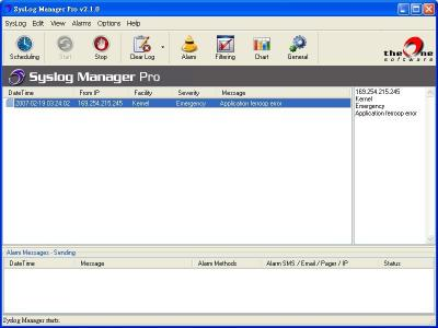 Download TheOne SysLog Manager Pro
