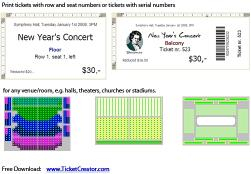 Download TicketCreator - Print Your Tickets