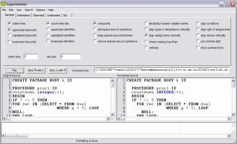 Download Tidycode Pl Sql Formatter