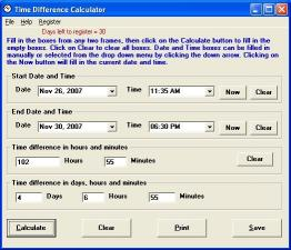 Download Time Difference Calculator