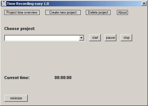 Download Time Recording easy
