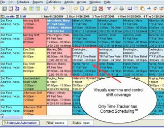 Download Time Tracker Scheduling Software