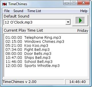 Download TimeChimes Pro Automated Audio Player