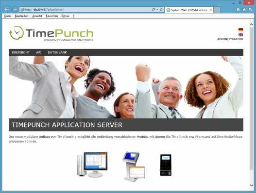 TimePunch Application Server