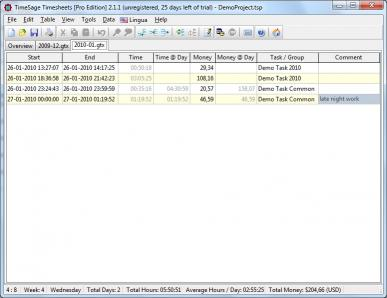 Download TimeSage Timesheets - Pro Edition