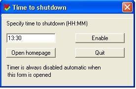 Download TimetoShutDown