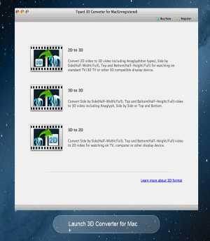 Tipard 3D Converter for Mac