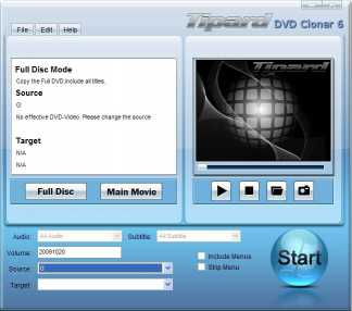 Download Tipard DVD Cloner 6