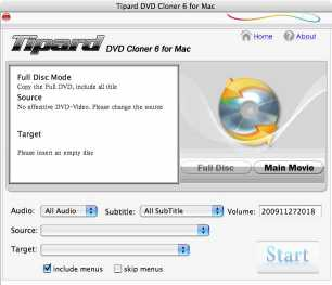 Download Tipard DVD Cloner for Mac