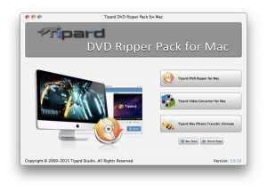 Tipard DVD Ripper Pack for Mac