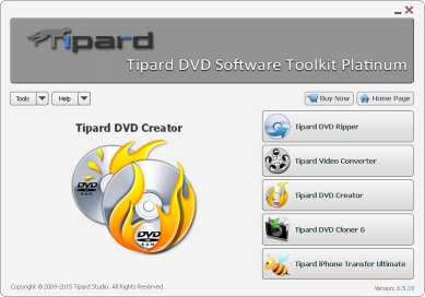 Tipard DVD Software Toolkit Platinum