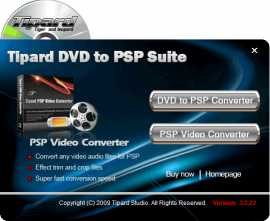 Tipard DVD to PSP Suite