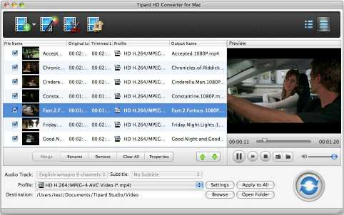 Tipard HD Converter for Mac