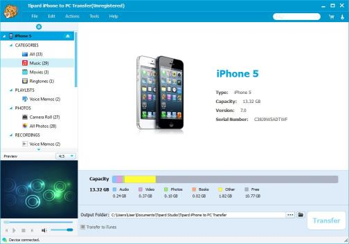 Download Tipard iPhone to PC Transfer