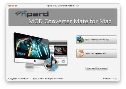Tipard Mod Converter Mate for Mac