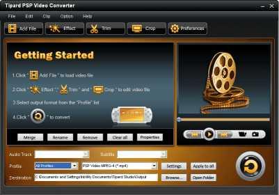 Tipard PSP Video Converter