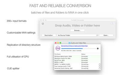 Download To M4A Converter for Mac