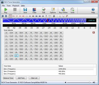 Download Tone Generator Free Sound Software