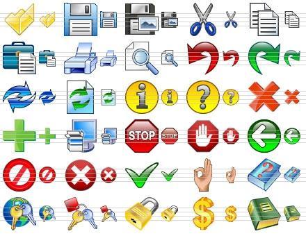 Download Toolbar Icon Set