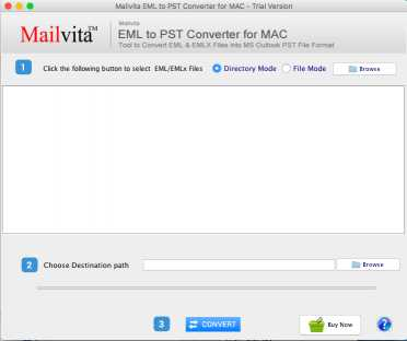 Toolscrunch Mac EML to PST Converter