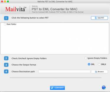 ToolsCrunch Mac PST to EML Converter