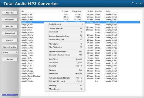 Total Audio MP3 Converter