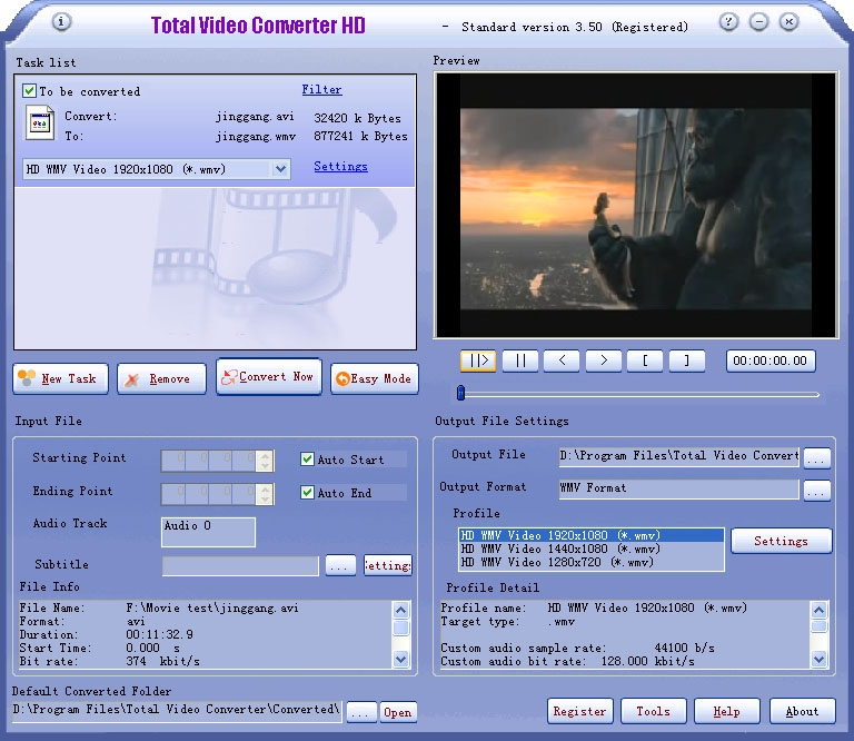 Total video converter free download.