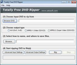 Download Totally Free DVD Ripper
