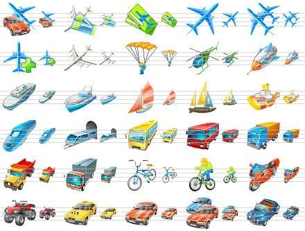 Download Transport Icons for Vista