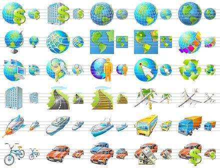 Download Travel Icon Set