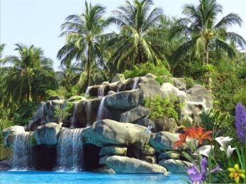 Download Tropic Waterfall