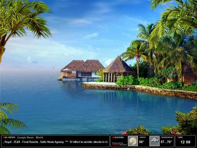 Download Tropical Dream Screensaver