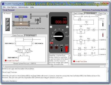 TroubleX Electrical Troubleshooting Sim