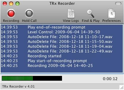 Download TRx Personal Phone Call Recorder for Mac