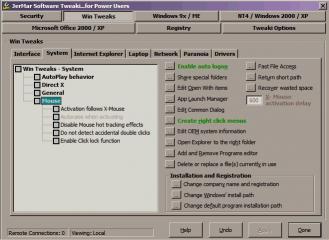 Download Tweaki...for Power Users