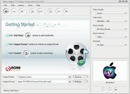 Download Ultra Apple TV Video Converter