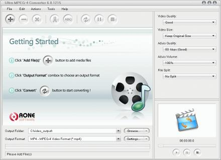 Download Ultra MPEG-4 Converter