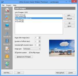 Ultra Screen Saver Maker by Finalhit