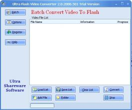 Download Ultra Video To Flash Converter
