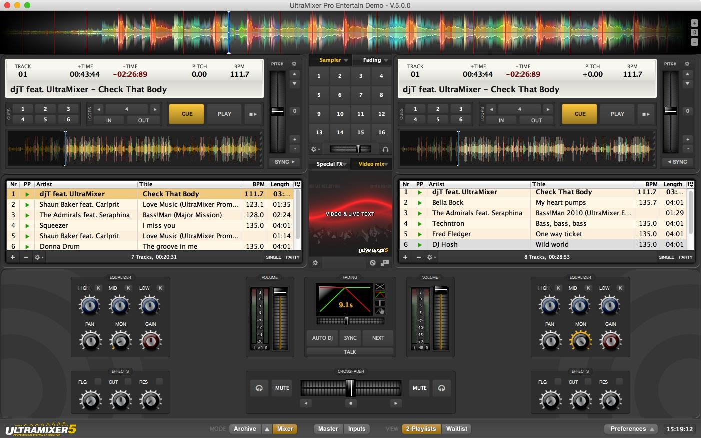 Download UltraMixer 5 Pro Entertain
