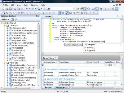 Download Universal SQL Editor