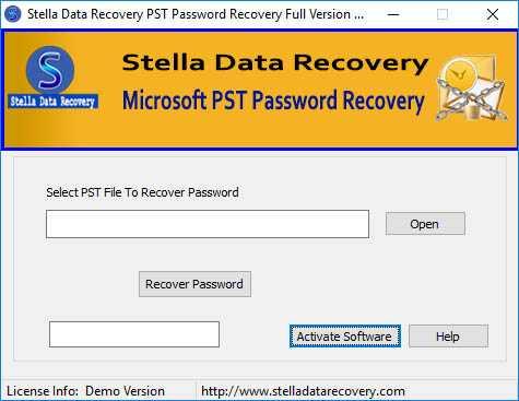 Unlock PST Password