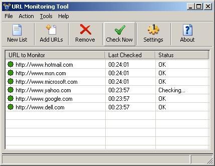 Download URL Monitoring Tool